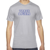 Track - American Apparel Unisex Fine Jersey Short-Sleeve T-Shirt