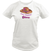 Diva - Quoz - Ladies Wave Tee