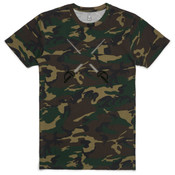 Cross Swords -  AS Colour - Camo Staple Tee