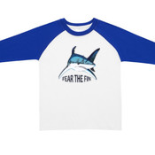 Fear the Fin - RAMO - Kids Raglan