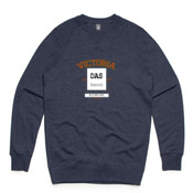Vic Lions - AS Colour - Unisex Brush Crew Sweater