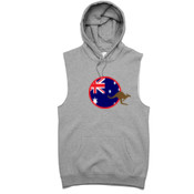 Aussie -  AS Colour - Stencil Vest Hood