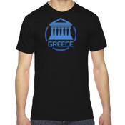 M/Greece - American Apparel Unisex Fine Jersey Short-Sleeve T-Shirt