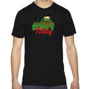 M/Italy - American Apparel Unisex Fine Jersey Short-Sleeve T-Shirt