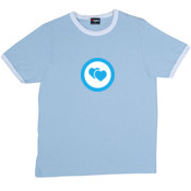 Two Hearts - RAMO- Ringer Unisex Tee