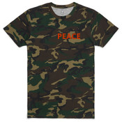 Peace -  AS Colour - Camo Staple Tee